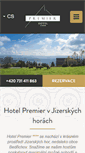 Mobile Preview of hotelpremier.cz