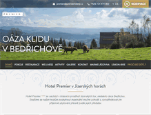 Tablet Preview of hotelpremier.cz